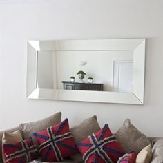Image of Tuscany All Glass Mirror