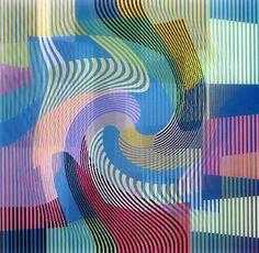 Yaacov Agam, born 1928, is an Israeli experimental artist and sculptor