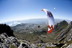 Paragliding in SA
