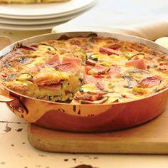 Ham and Vegetable Frittata