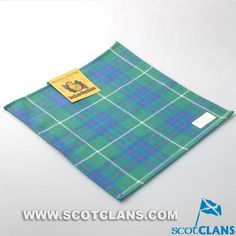 MacInytyre Hunting Ancient Tartan Handkerchief