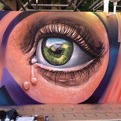 "1,191 curtidas, 4 comentários - @tschelovek_graffiti no Instagram: ""@elduke103 in Valencia, Spain. #elduke103 #duke103 #valenciastreetart #valenciagraffiti…"""