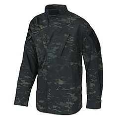 Tactical Response Uniform (TRU) Top - Multicam Black