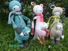 KIRA the kangaroos made by badianeetsophie / crochet pattern by lalylala