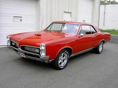 1967 Pontiac GTO. Awesome American Muscle!