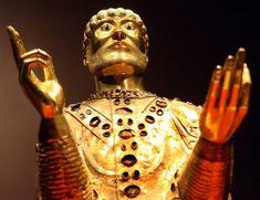 Buste-reliquaire de Saint Baudime
