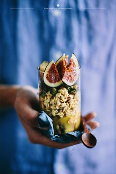 Bircher Muesli with Plums & Pistachios | What Should I Eat For Breakfast Today?
