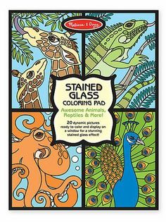 Melissa and Doug- Boys Coloring and Sticker Pad Bundle by Melissa and Doug. $16.99. Includes boy themed art activities.. Habitats reusable sticker pad- 3+, over 150 stickers that can be repositioned!. Stained glass coloring pad (Animals, Reptiles and more)- 4+, twenty unique pages bound in a handy pad tear out cleanly to display.. Make a Face crazy creatures sticker pad- 4+, over 160 stickler to use on 20 different backgrounds.. Habitats reusable sticker pad: Visit ...