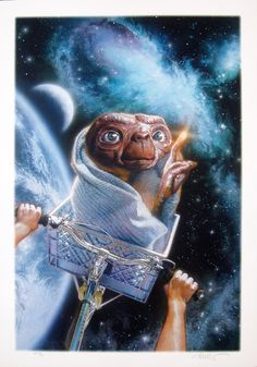 Image of E.T. The Extra Terrestrial (2) - Drew Struzan Ltd. Ed. - WG00237