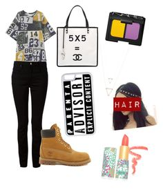 """""""Math"""" by faithypoo578 on Polyvore featuring Acne Studios, Alexander Wang, Timberland, Chanel, CellPowerCases, NARS Cosmetics and tarte"""