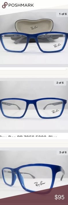 f5c8fef1d81 New Authentic Eyeglasses. The size is  Item is shipped with the original  Ray Ban hard cover case Ray-Ban Accessories Glasses