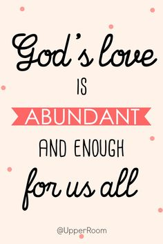 Since God loves everyone, how can we not try to do the same?