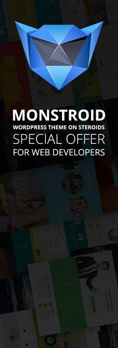 #Monstroid - Special Prices for Developers: http://www.templatemonster.com/wordpress-themes/monstroid/?utm_source=pinterest&utm_medium=timeline&utm_campaign=buymonstr
