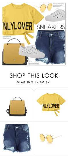 """So Fresh: White Sneakers"" by duma-duma ❤ liked on Polyvore featuring whitesneakers"