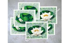 Dragonfly art note cards - Set of 6, Three of each
