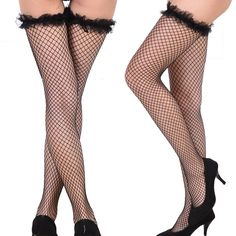 6d7955486 Net Women Pantyhose Top Long Thigh Tights Fishnet Stockings High Socks   fashion  clothing  shoes  accessories  womensclothing  hosierysocks (ebay  link)