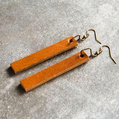 Leather Drop Earrings – The Magnolia Market