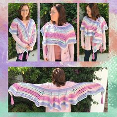 The Noelani Shawl. A beautiful shawl in an octagon shape. Done with Moya Snugs. One Color, Color Change, Mirror Image, Snug, Picnic Blanket, Pattern Design, Shawl, Rabbit