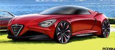 Alfa Romeo ideas on Behance