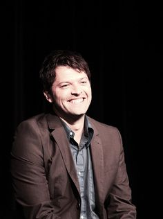 misha collins is too adorable.