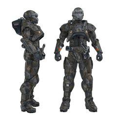 Futuristic body armor - Google Search