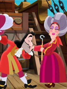 Jake et les Pirates : La Maman du Capitaine Crochet