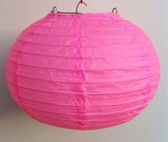 """Chinese Japanese Pink Paper Lantern 8"""" by ws. $0.77. This paper lantern perfect for party and home decoration."""