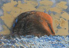 """KIMMO KAIVANTO, """"MEREN YLITTÄJÄ"""". Finland, Auction, Painting, Design, Art, Art Background, Painting Art, Kunst, Gcse Art"""