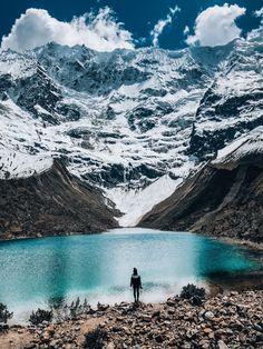 Humantay Lake, Peru Peru Travel Destinations Honeymoon Backpack Backpacking Vacation Wanderlust Budget Off the Beaten Path South America Machu Picchu, Peru Travel, Travel Usa, Lima, Travel Pictures, Travel Photos, Backpacking Peru, Arte Latina, Peru Vacation