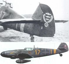"Bf 109 G6 R6 , used by Gerhard ""Gerd"" November 1943 , Staffelkapitän of 8/JG 300,he was appointed Gruppenkommandeur of I/JG300 on 1st of November"