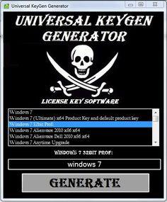Universal KeyGen Generator 2014 Latest Free Download 100% Working