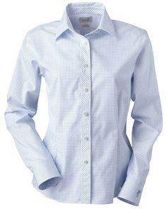 Ladies Pattern Woven | Buy ladies ez-tech check pattern woven at Gotapparel.com.