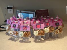 Really fun, and inexpensive goody bags that I made for Bree's party. Monster high party bags