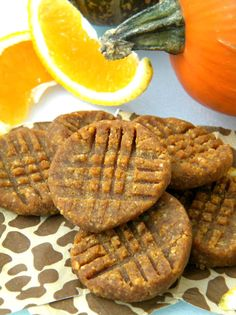 Orange Pumpkin Spice Cookies #paleo