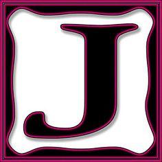 Presentation Alphabets: Drop Caps Letter J - Style 074