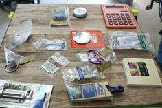 DIY Spielbrett aus verschiedenen Gegenständen