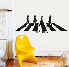 ABBEY ROAD http://www.myvinilo.com/vinilos-pop/abbey-road.html Vinilos decorativos, hogar, decoración, interiores, pared, diseño, grafica, wall decals, stickers, decoration, design, graphics, arte, art, music, pop, the beatles.