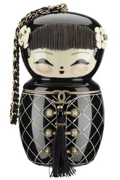 The Chinese Doll bag by Chanel from the pre-Fall 2010 collection