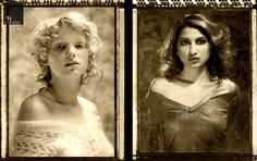 Aged images, shot for a hair salon:  ©2014 darryl humphrey - photography
