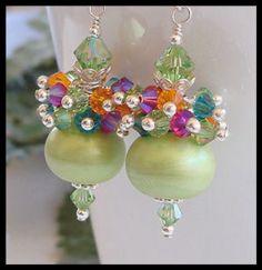 Tropicana earrings by ctbydonna