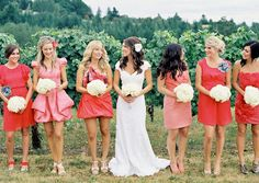 A Pristine Beach, Warm Tropical Breezes and the Love of your life: 3 Hot Color Trends For Your Wedding