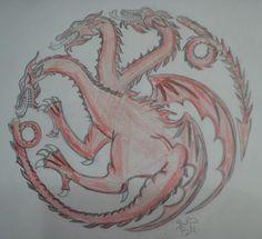 Proyecto de camiseta. Targaryen.