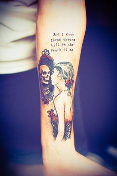 Tattoo Done by Robby Welke in Berlin