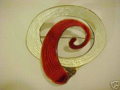 Grete Prytz Kittelsen for Tostrup Enamel Jewelry, Silver Jewelry, Inexpensive Jewelry, Vitreous Enamel, Design Movements, Scandinavian Design, American Art, Jewelry Making, Symbols