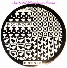 Nail Art Stamping Mania: Pueen Stamping Plates 2014 - Buffet Set 24B Review  http://nailartstampingmania.blogspot.it/2014/03/pueen-stamping-plates-2014-buffet-set.html