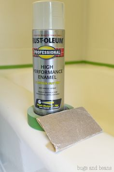 Rust-oleum High Performance Enamel $8 new bath