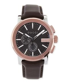 G-Chrono XL Watch  by Gucci at Neiman Marcus.