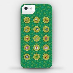 Animal Crossing iPhone cover