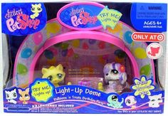 Littlest Pet Shop Exclusive Playset Light Up Dome Balloons 'n Treats Birthday Party by Littlest Pet Shop. $26.79