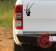 Gemsbok Head Vinyl Sticker Kruger National Park, National Parks, Wildlife Safari, Car Stickers, African, Bumper Stickers For Cars, Car Decals